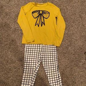 H&M shirt and pant set